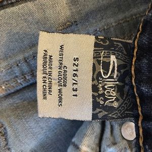 Silver Jeans Jeans - Bootcut Aiko Silver Jeans Size 16